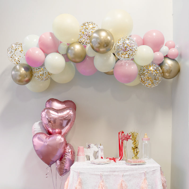 DIY Baby Pink Balloon Garland Kit