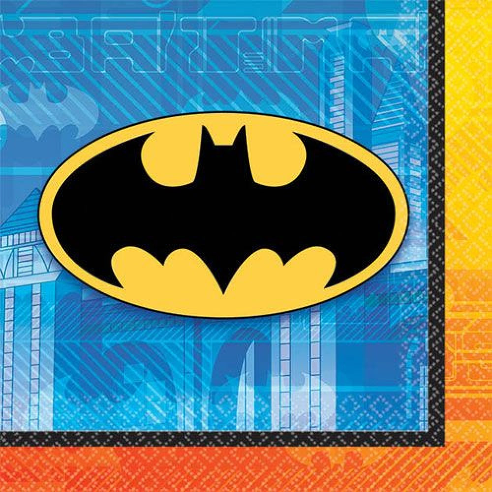 Batman Napkins - Beverage