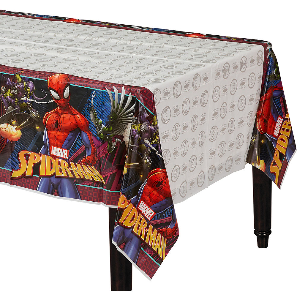 Spiderman Webbed Tablecover