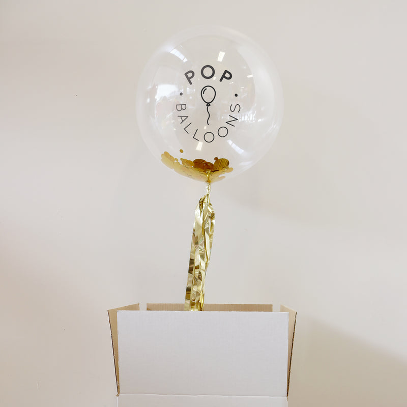 Personalised Branded Bubble Balloon