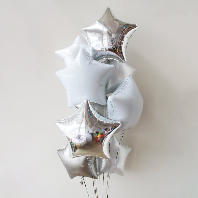 Sterling Star Foil Bouquet