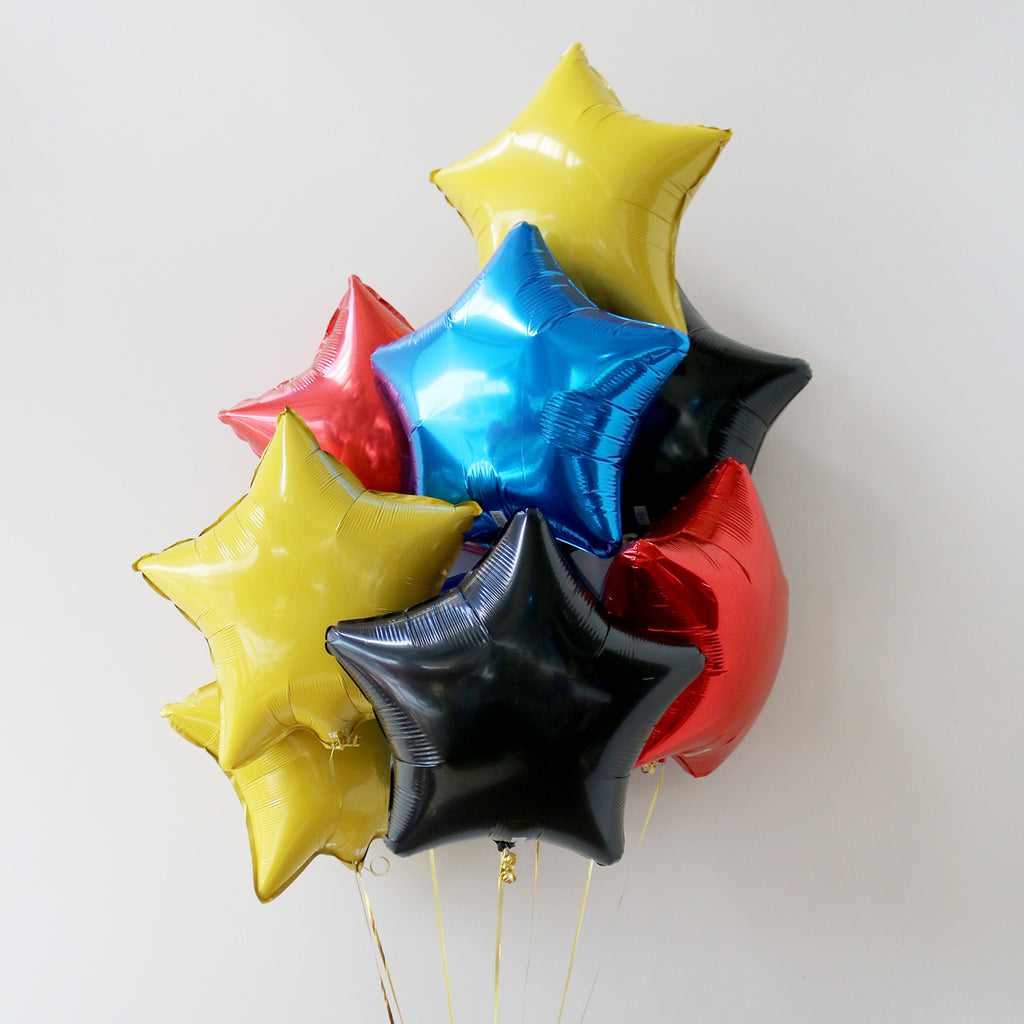 Superhero Star Foil Bouquet