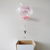 Pink Personalised New Baby Bubble Balloon