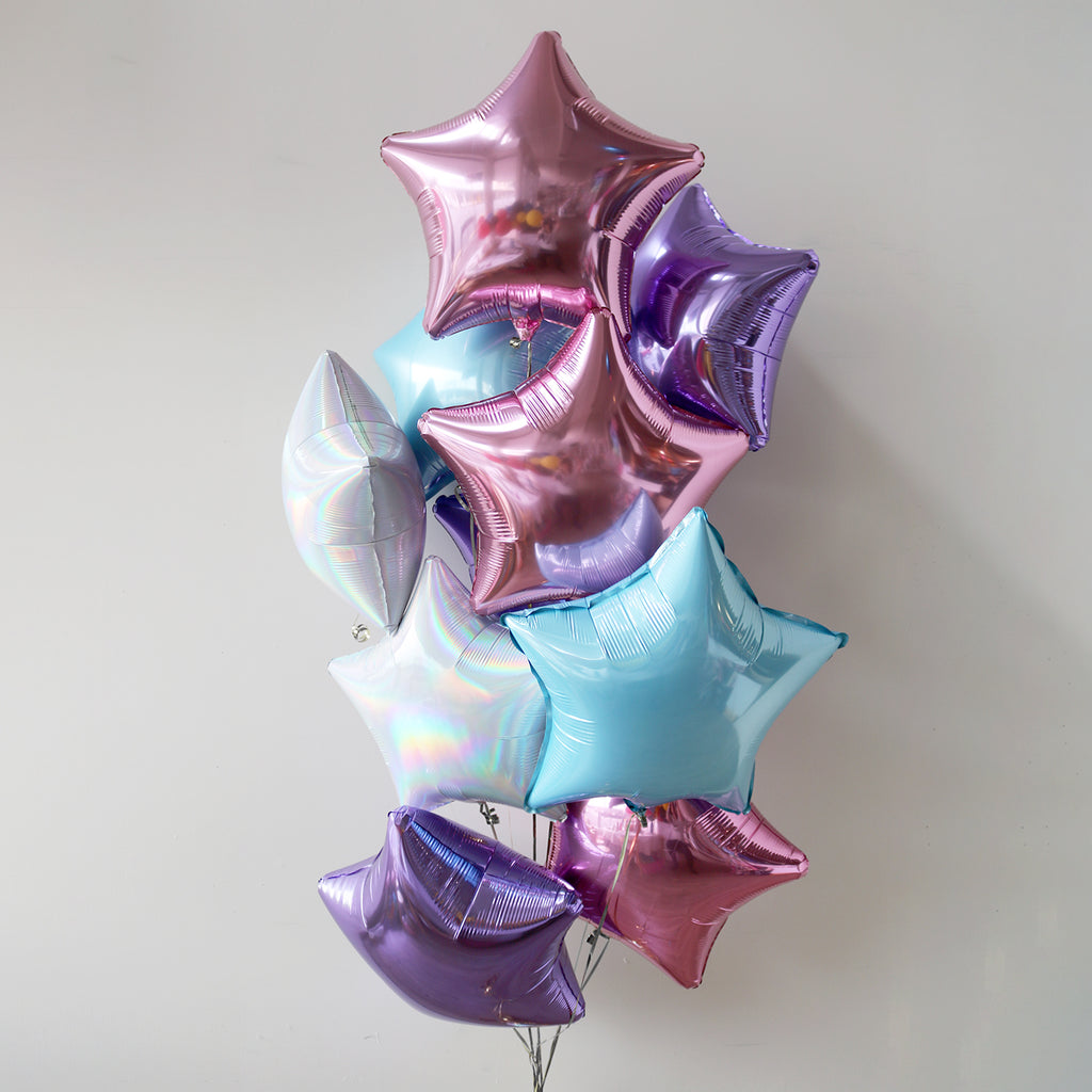 Unicorn Star Foil Bouquet