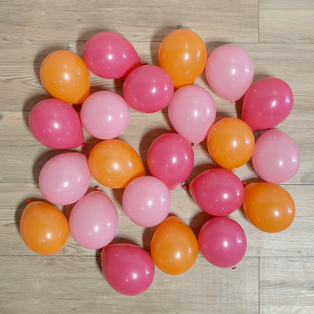 Pack of 25 Mini Balloons - Flamingo