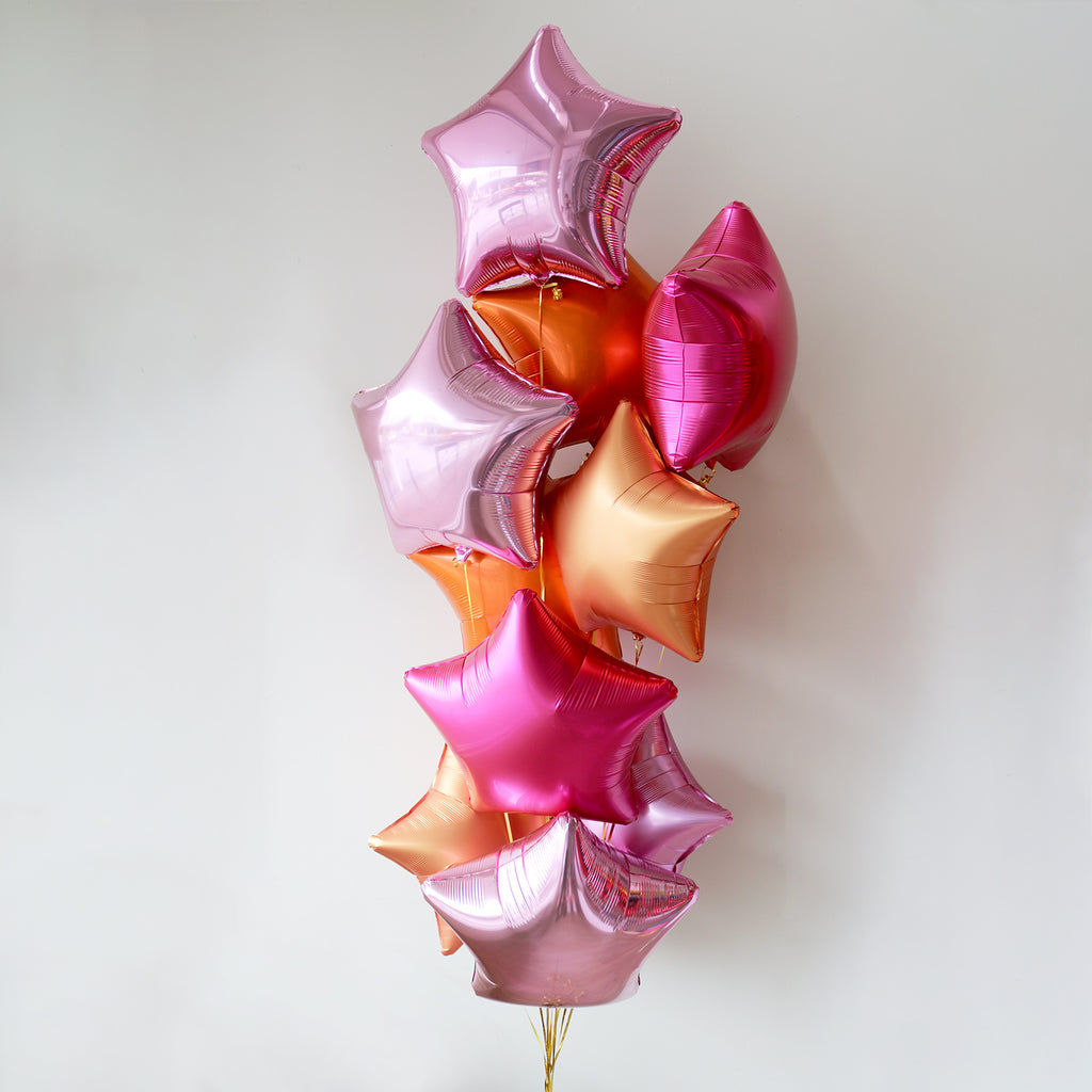 Flamingo Star Foil Bouquet