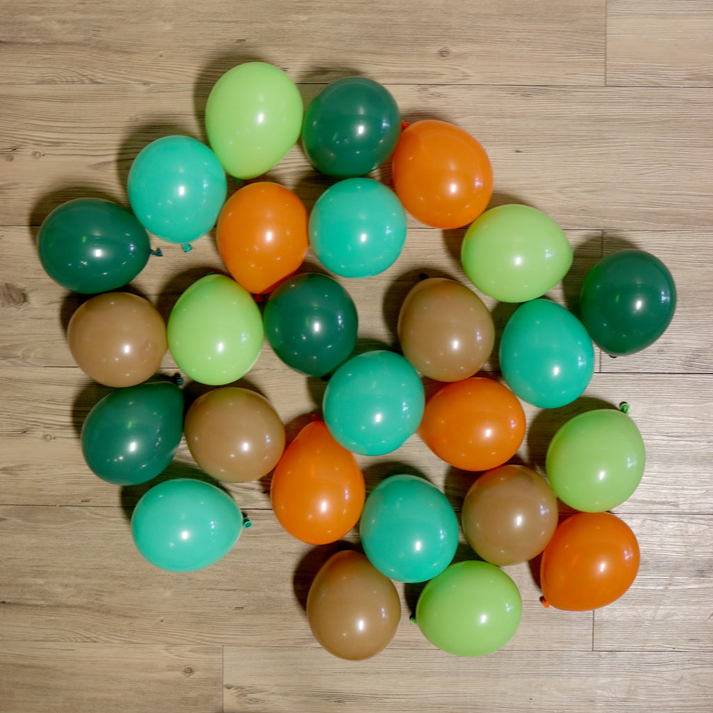 Pack of 25 Mini Balloons - Dinosaur