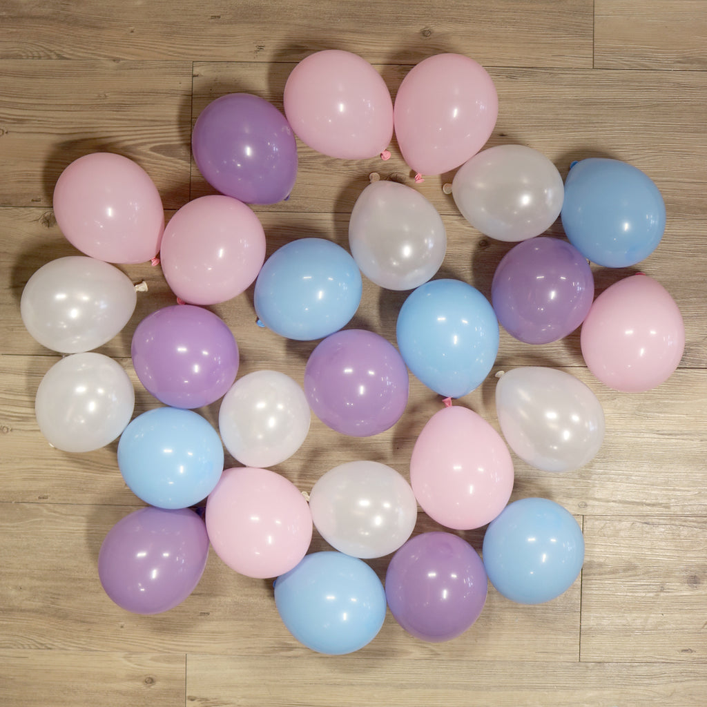 Pack of 25 Mini Balloons - Unicorn