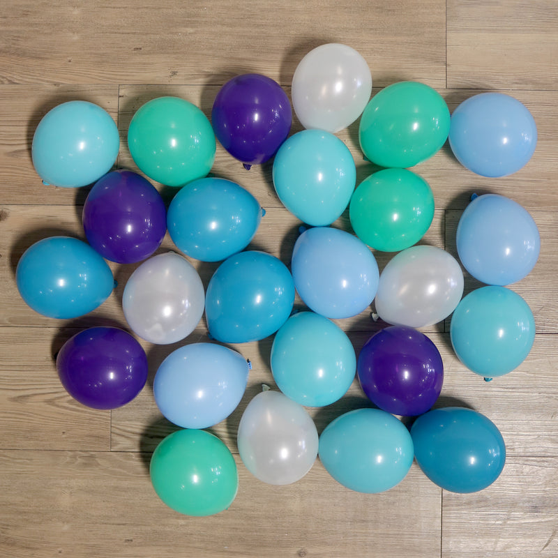 Pack of 25 Mini Balloons - Mermaid