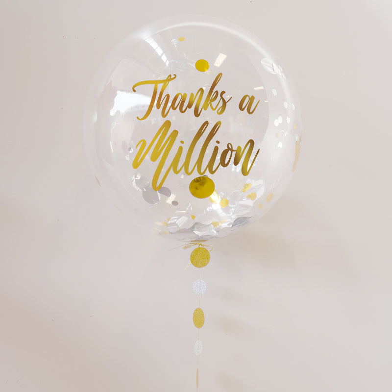 Personalised Thank You Balloon | Thank You Gifts