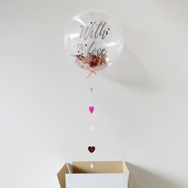 Personalised With Love Bubble Balloon
