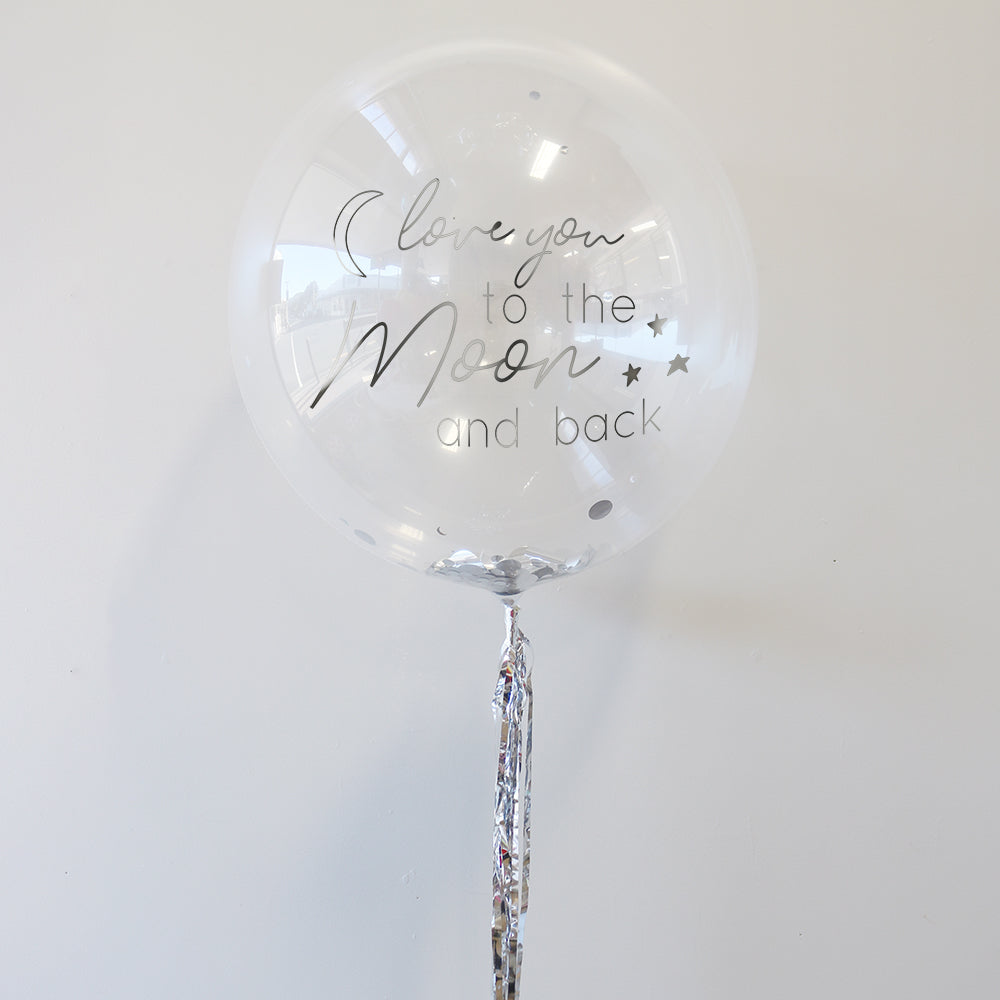 Love You to the Moon and Back Balloon | Love You Gifts