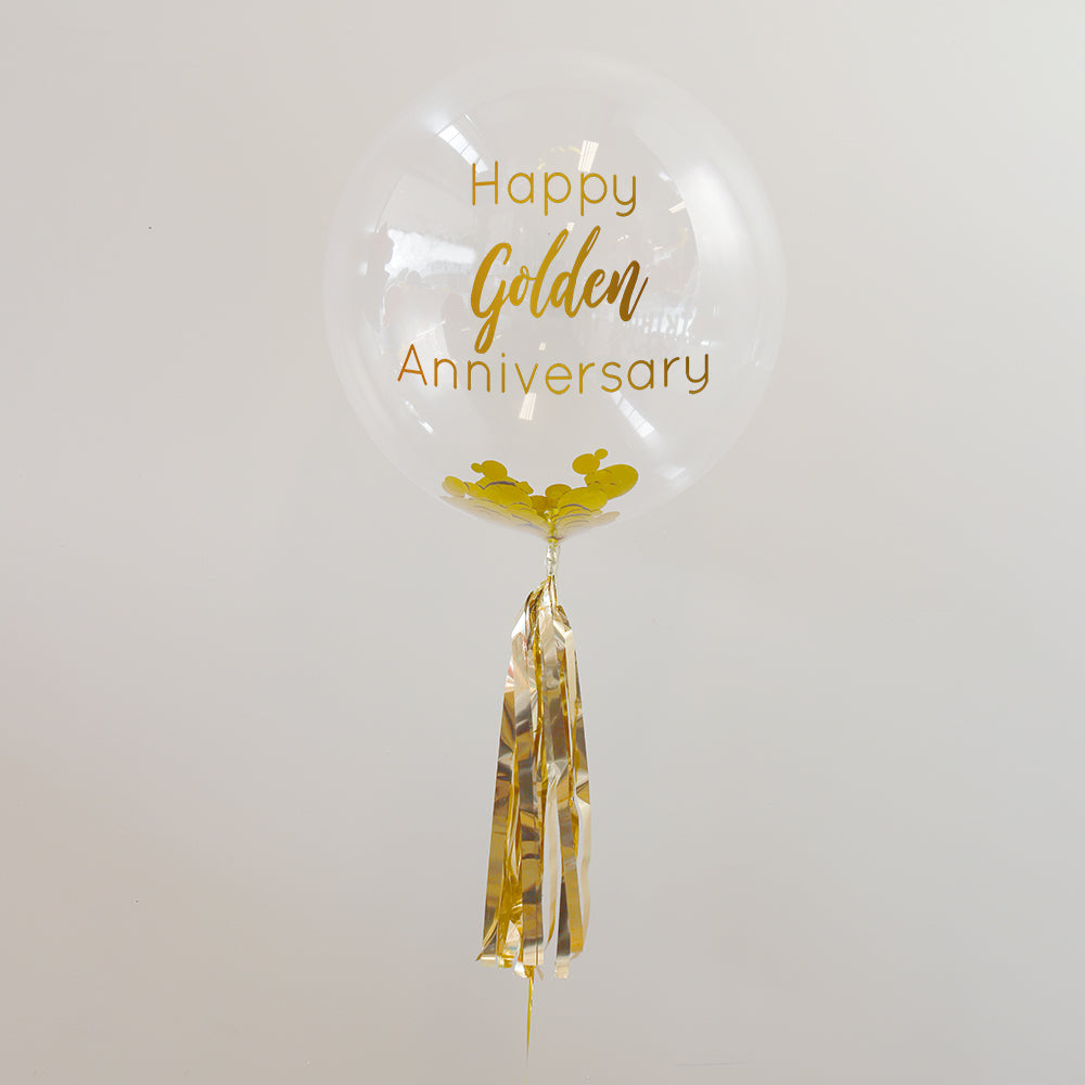 50th Anniversary Balloon | 50th Anniversary Gifts