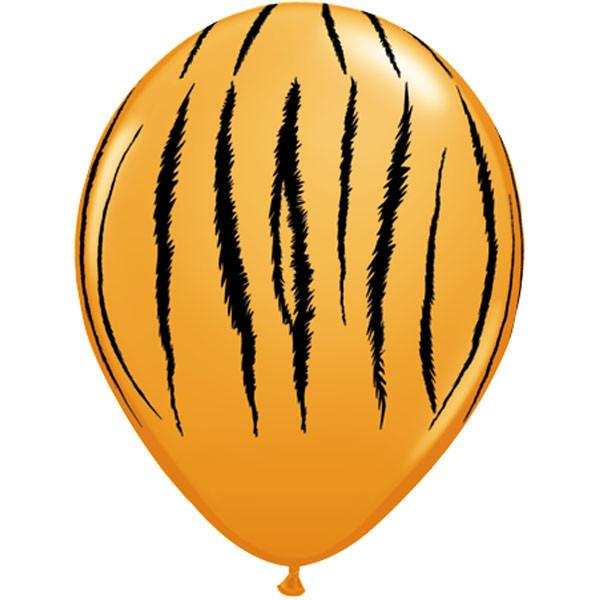 Tiger Print Balloon