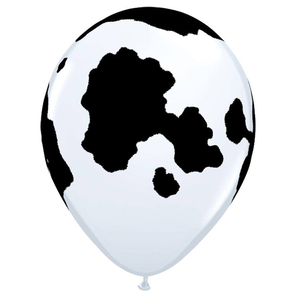 Cow Print Balloon