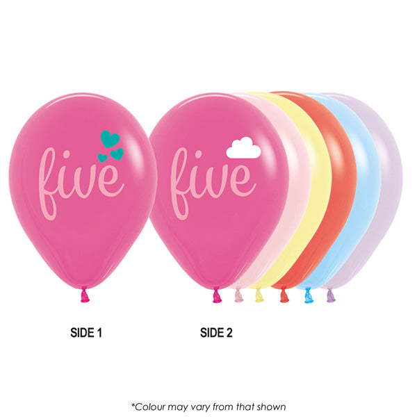 Five Girl Balloon