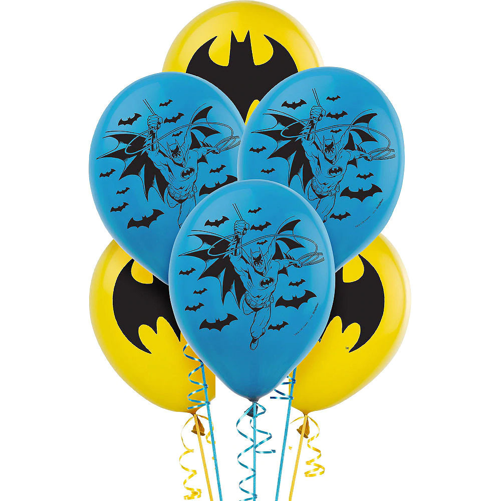 Batman Balloons - Pack of 6