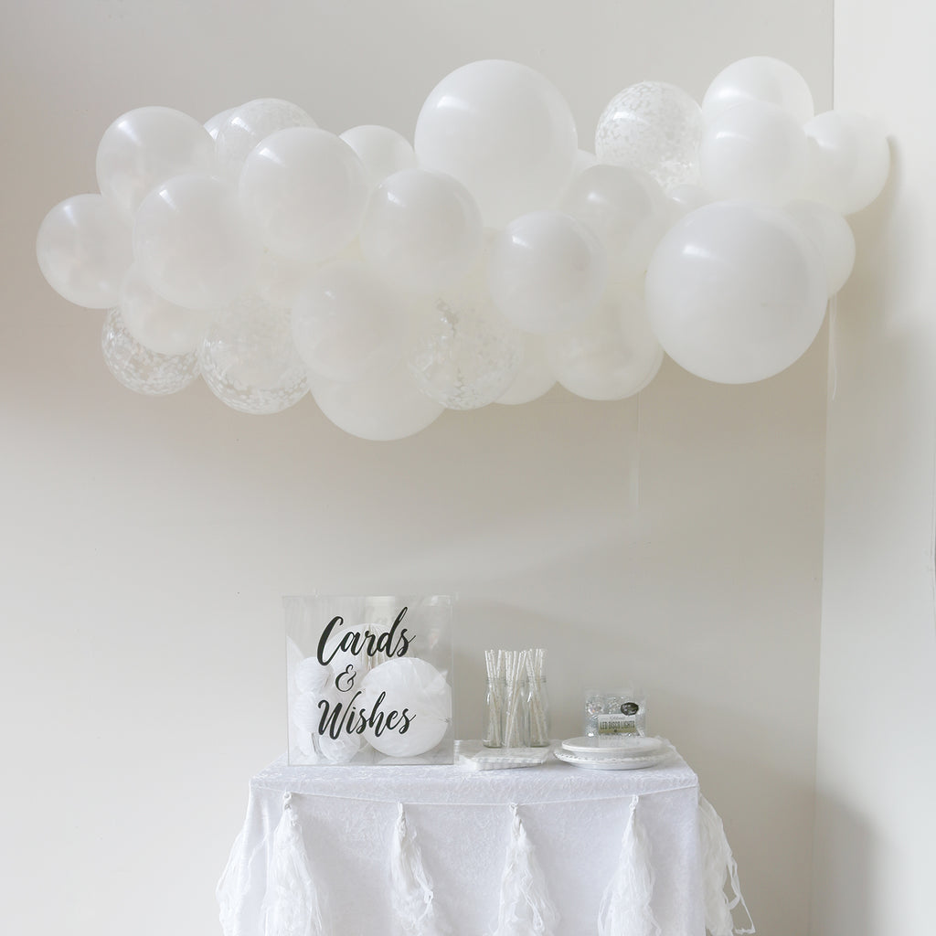 Balloon Garland - Angelic