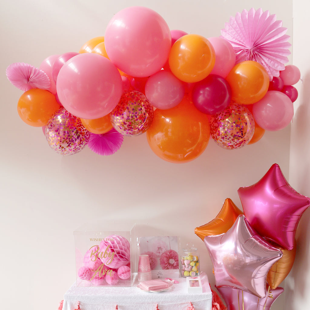 Flamingo Balloon Garland