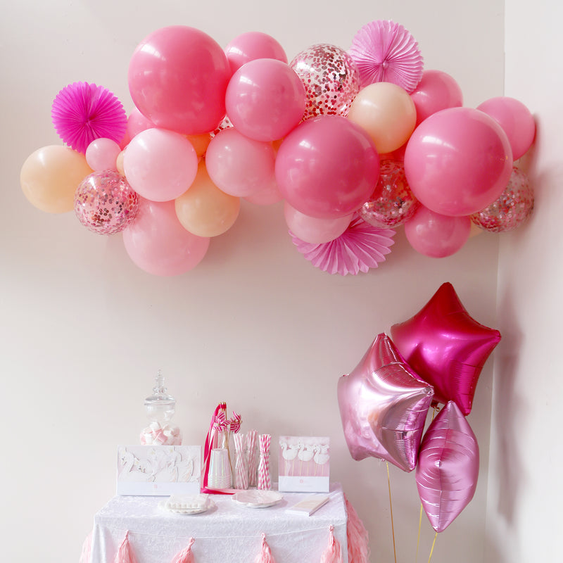 Balloon Garland - Blushing Peach