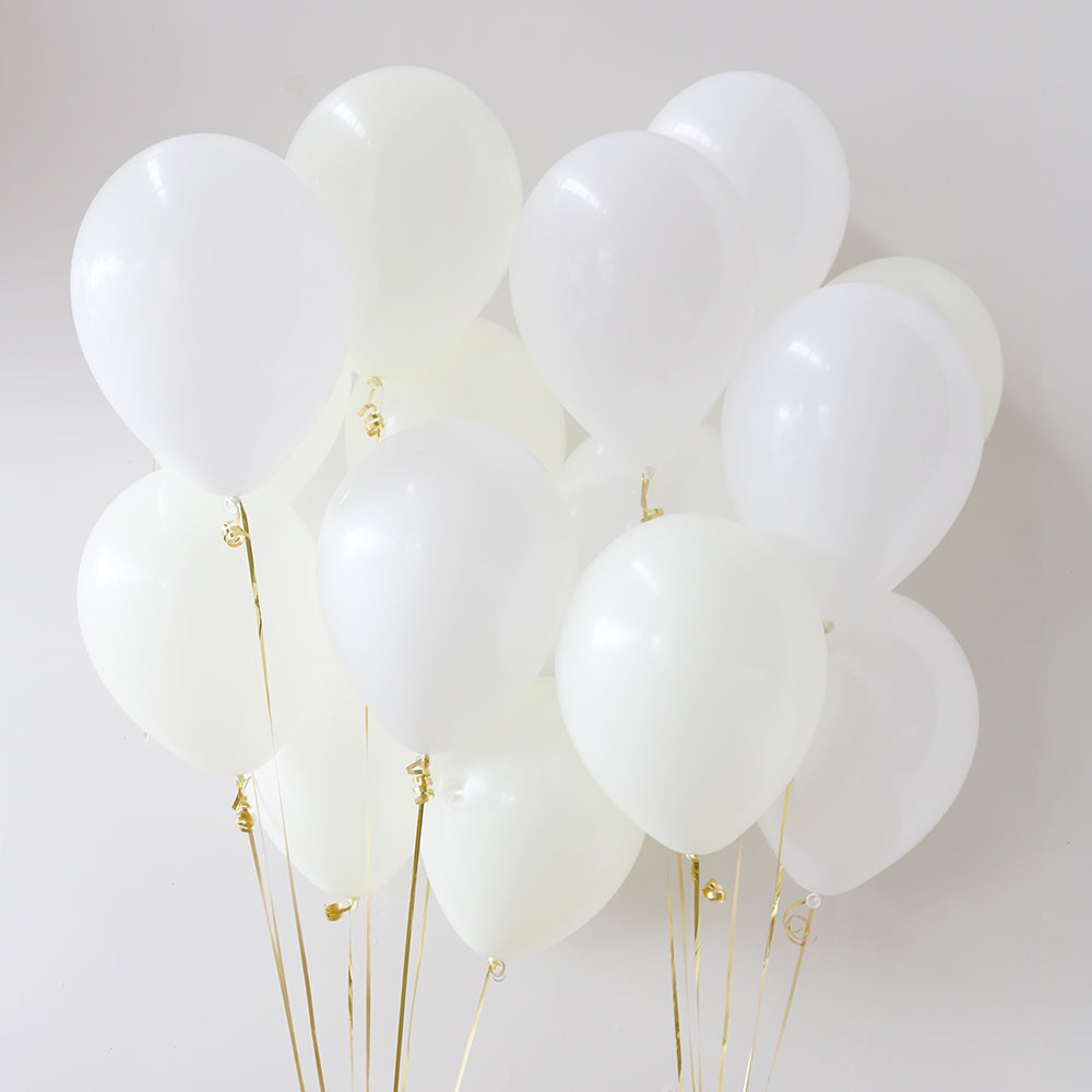 Pack of 15 Latex Balloons - Angelic