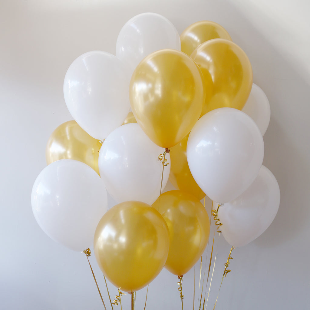 Pack of 15 Latex Balloons - Luxe