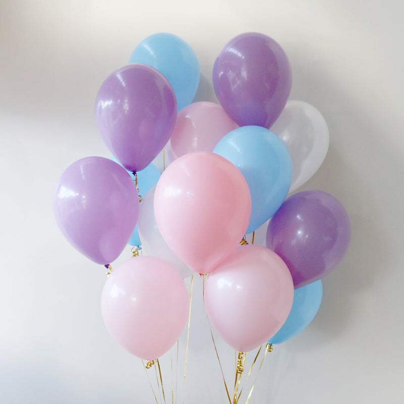 Pack of 15 Latex Balloons - Unicorn