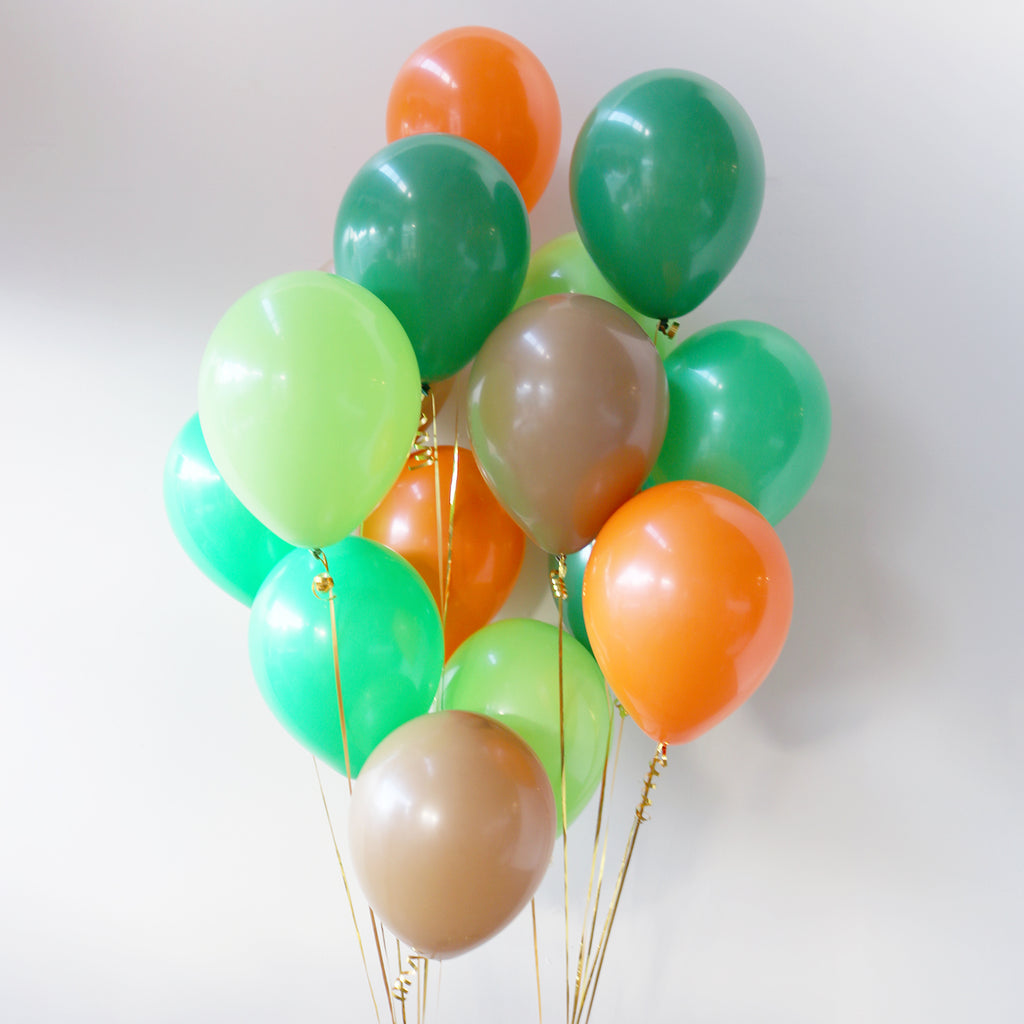 Pack of 15 Latex Balloons - Dinosaur
