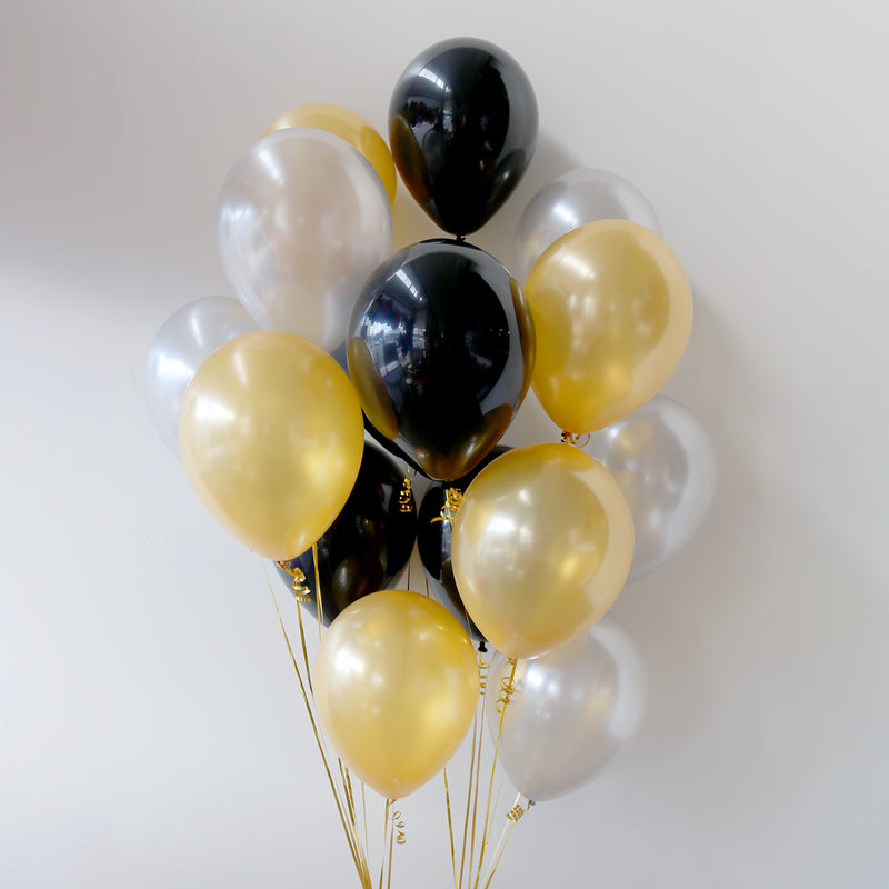 Pack of 15 Latex Balloons - Glitz