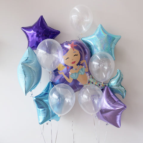Gender Reveal Star Foil Bouquet