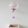 Pink Personalised Happy Birthday Bubble Balloon