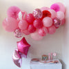 Pretty In Pink Balloon Garland