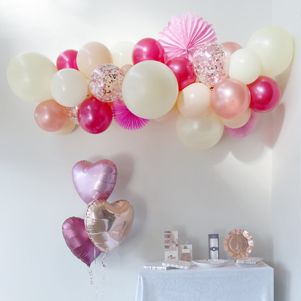 Very Berry Balloon Garland