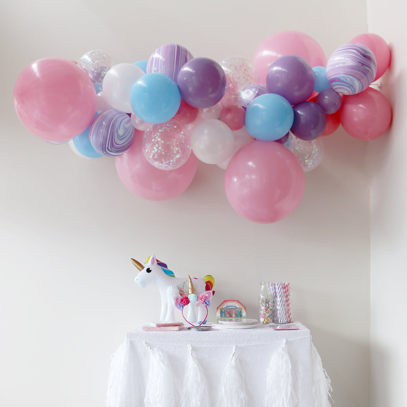 Unicorn Balloon Garland