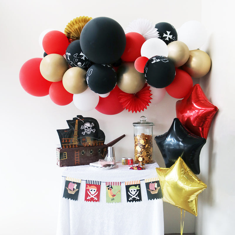 Balloon Garland - Pirate's Treasure