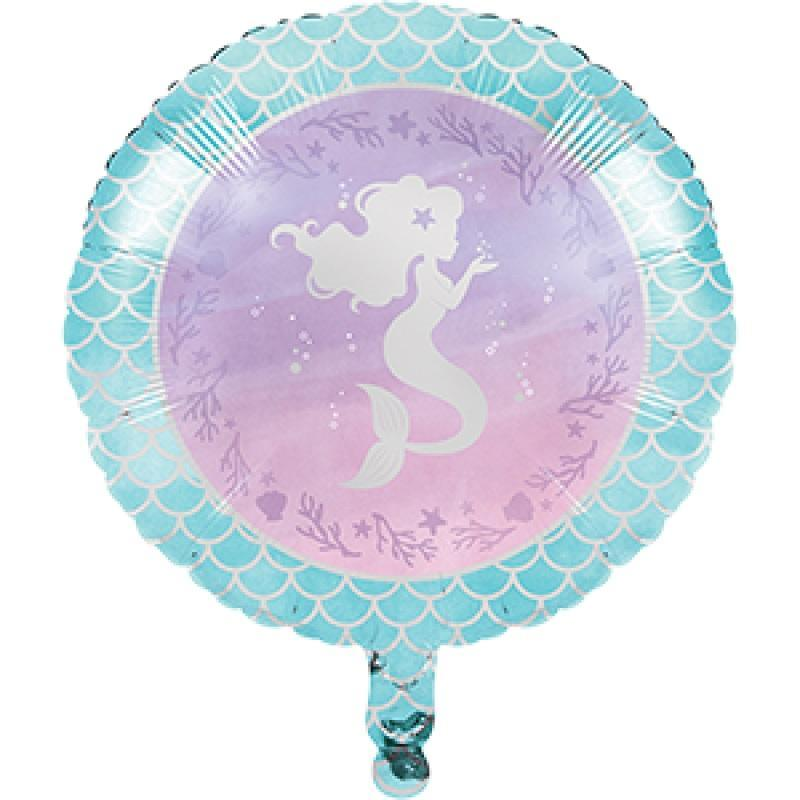 Amscan | Mermaid Shine Foil Balloon | Mermaid Shine Party Theme & Supplies |