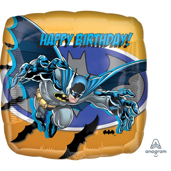 Batman Happy Birthday Foil Balloon