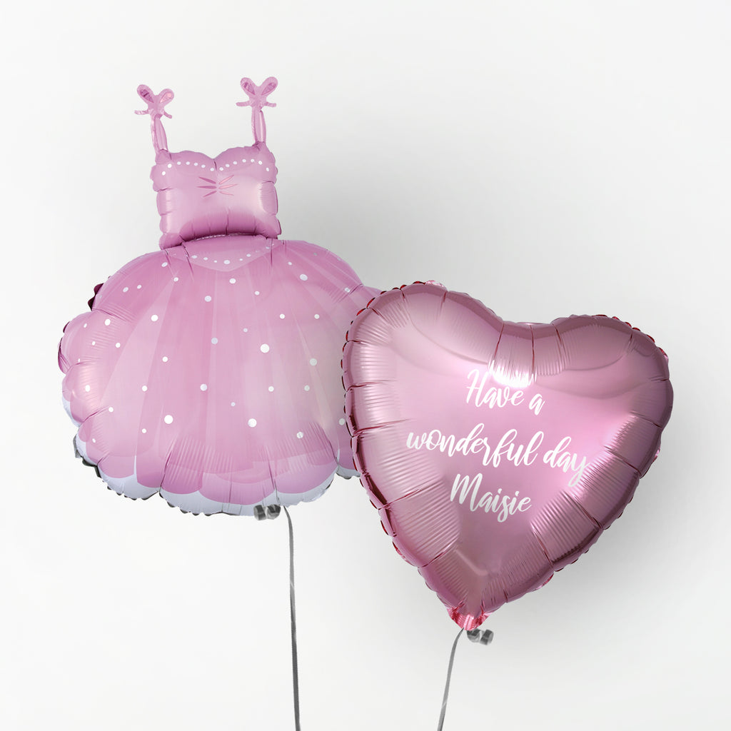Ballerina Personalised Foil Duo