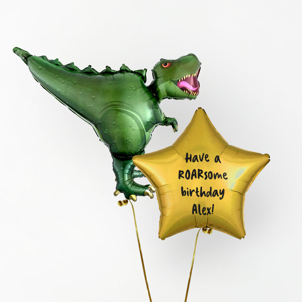 Dinosaur Personalised Foil Duo