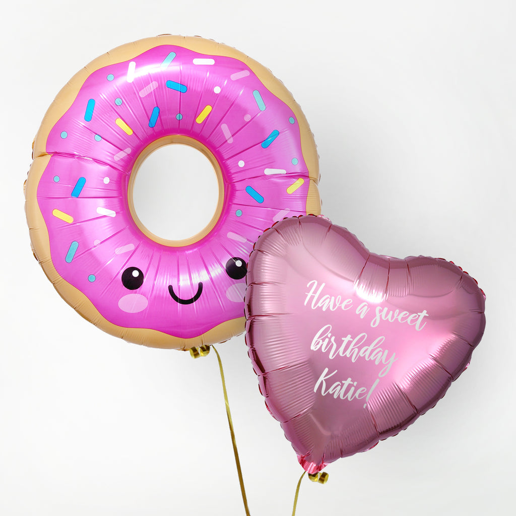 Donut Personalised Foil Duo