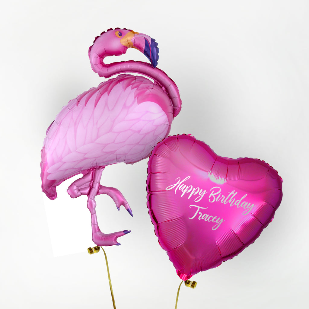 Flamingo Personalised Foil Duo