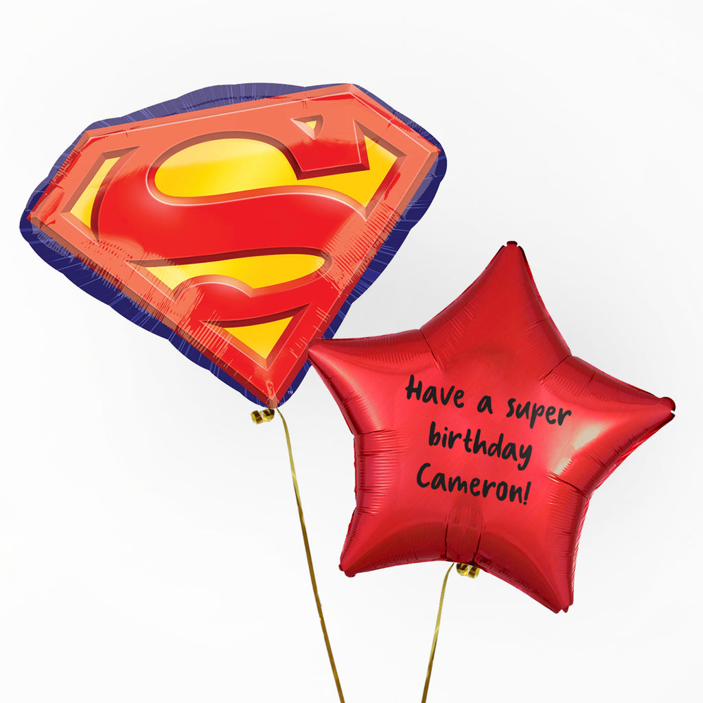Superman Personalised Foil Duo