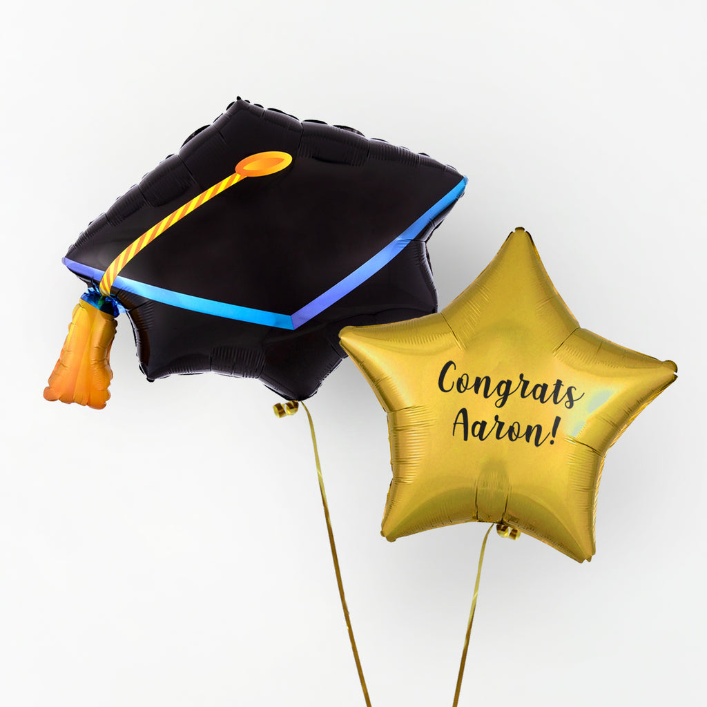 Graduation Personalised Foil Duo