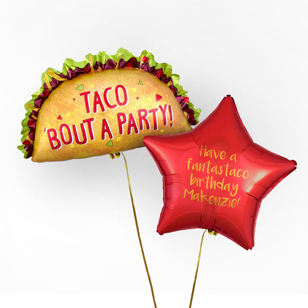 Taco Personalised Foil Duo