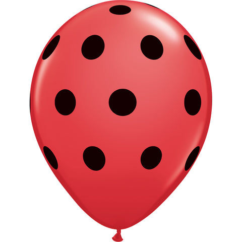Rose Pink Polka Dot Balloon