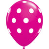 Red and Black Polka Dot Balloon