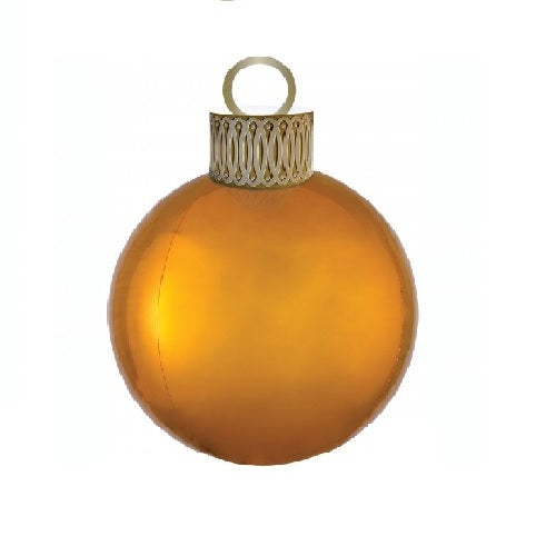 Gold Orbz Balloon and Ornament Kit | Christmas Theme & Supplies