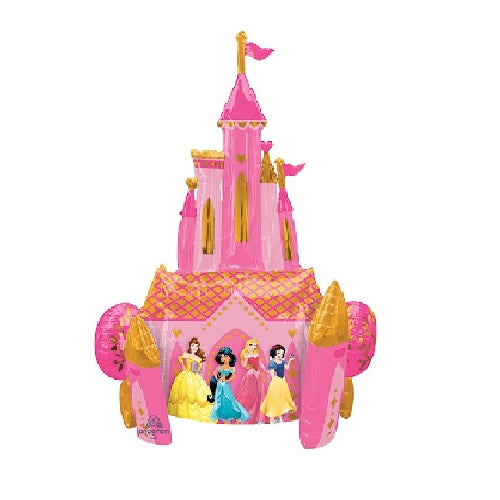 Disney Princesses Castle Airwalker Foil Balloon | Disney Princess Theme & Supplies