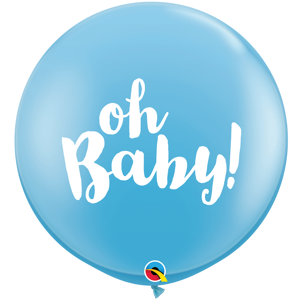 Giant Balloon - Blue Oh Baby