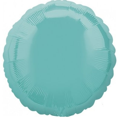 Robins Egg Blue Round Foil Balloon